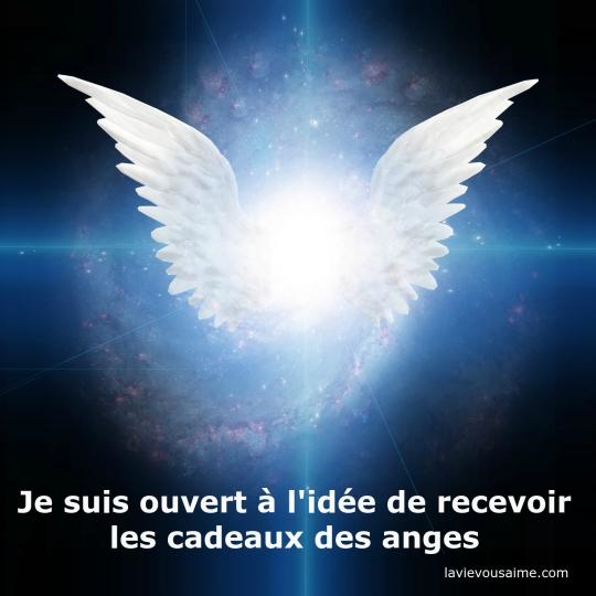 affirmation angelique - pensee positive - amour lille niko
