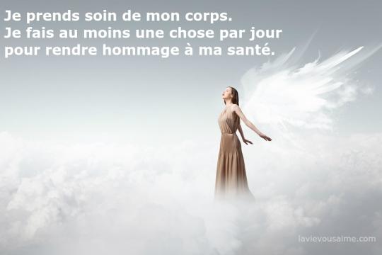 affirmation angelique - pensee positive - Niko Lille