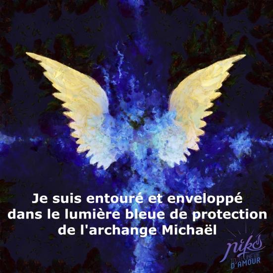 Archange michael - niko lille - Niko toute une vie d amour