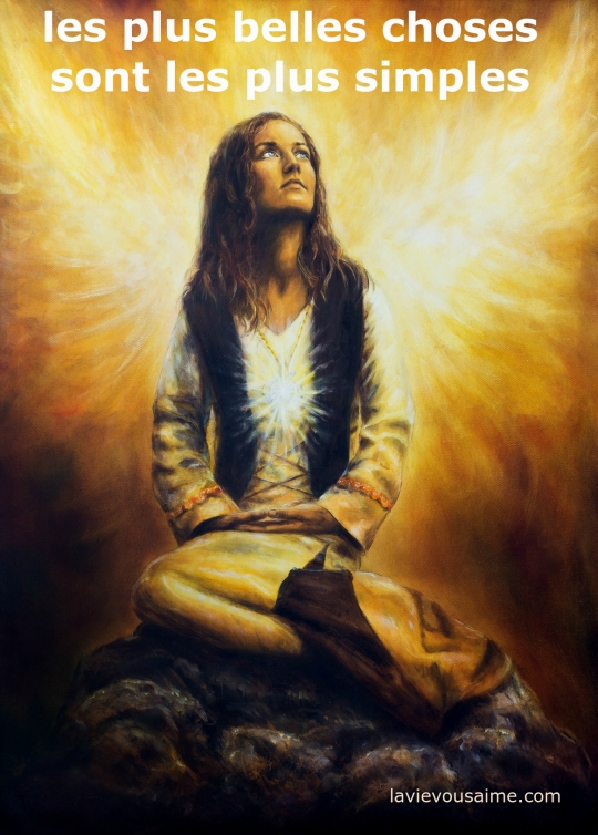 pensee positive - pensee angelique - affirmation angeliques - affirmation des anges - niko lille