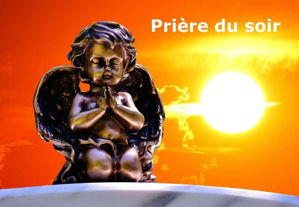 priere du soir - niko - anges lille - ange amour - travailler avec les anges - affirmation positive