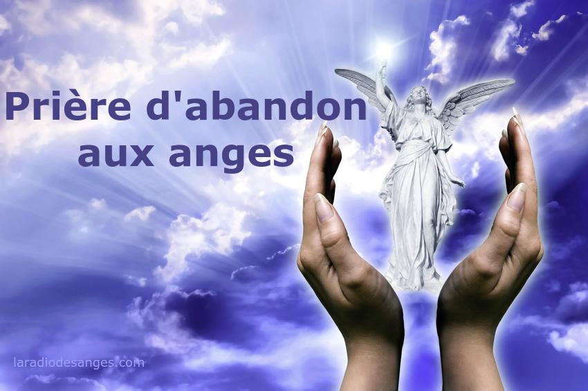 abandon aux anges - affirmation positive - affirmation angelique - la radio des anges
