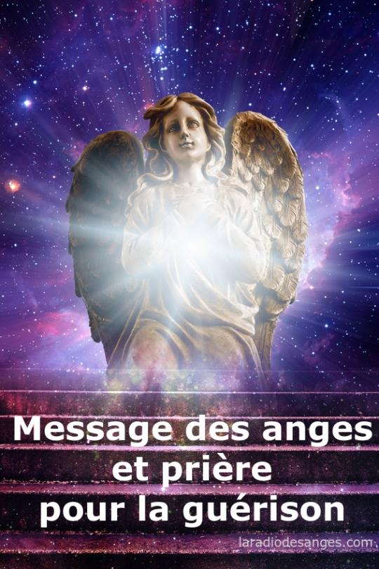 messages des anges et prière pour la guérison - radio des anges