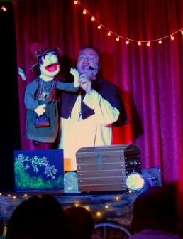 eimer la sorcière - niko le gardien des fées - spectacle marionnettes lille - magie lille - jeune public hauts de france
