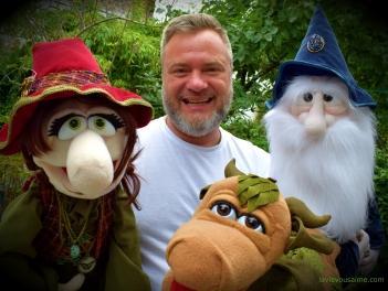Eimer la sorcière, Niko, Edmond le dragon, Professeur Magicus