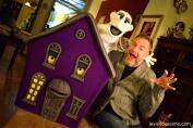 """La maison Hanté et le fantôme - A voir dans le spectacle : """"Le gardien des fées"""""""