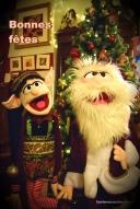 L elfe de Noël et le Père Noël