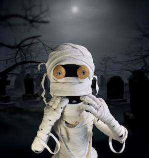 """Momie - A voir dans le spectacle """"Halloween"""""""