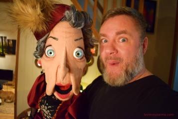 le petit imaginarium - Lady Violette - magie - mentalisme - marionnettes - puppet - Lille - Spectacle à domicile