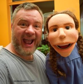 Laura Ingalls Puppet