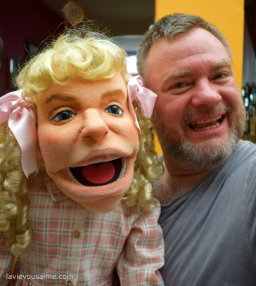 Nellie Oleson Puppet