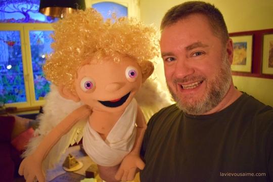 un ange - vrai ange - puppet - marionnette - spectacle enfant lille - spectacle marionnette nord