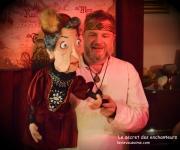 le secret des enchanteurs - magie - jeux - énigmes - marionnettes à domicile
