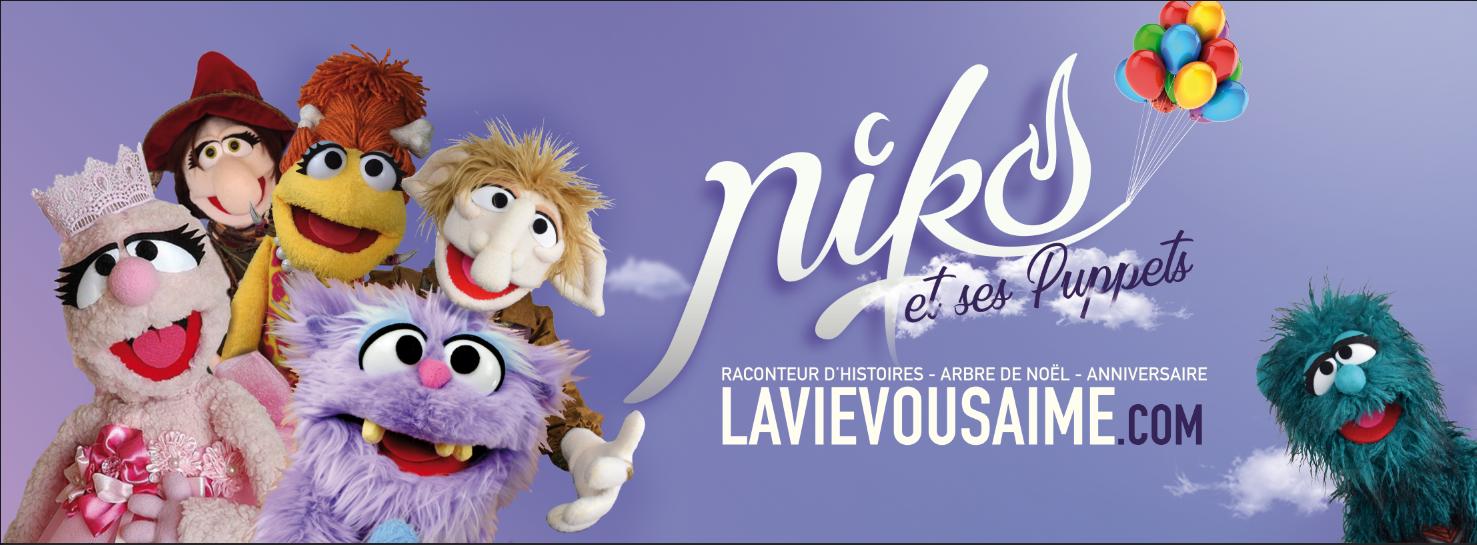 Niko et ses puppets – Artiste du merveilleux