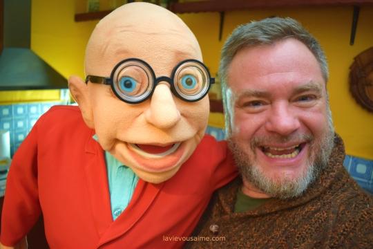 jean pierre coffe - puppet - parodie - marionnette - niko et ses puppets - lille - spectacle - nord