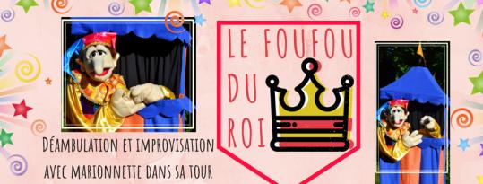 Le fou du roi - déambulation - déambulatoire - animation - lille - marionnette - spectacle rue - nord - improvisation