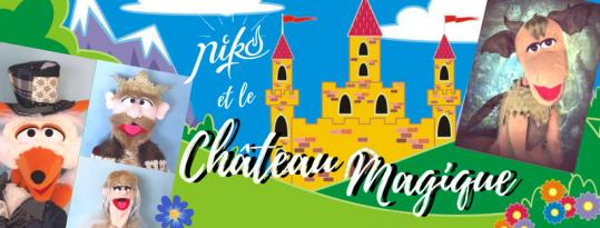 niko et le château magique - marionnettes - lille - magie - spectacle - lille - écoles - mairie - centres de loisirs