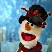 """Bouli le bonhomme de neige - A voir dans le spectacle """"La fête des lutins"""""""