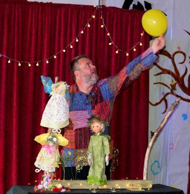 spectacle fées crèches maternelles écoles magie marionnettes