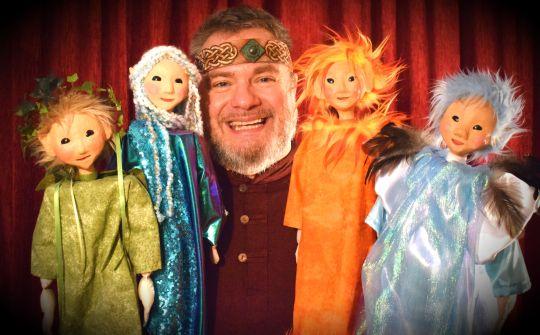 les lutins - niko - conte de fées - spectacle - enfants - magie - magique - marionnettes - marionnette - nord pas de calais - enfants - enfance - école - maternelles - crè