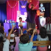 niko et le diamant magique - enfants - centre de loisirs - alsh - lens - lille - nord pas de calais - marionnettes conte magie magique